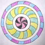 Mandala Ringe klein